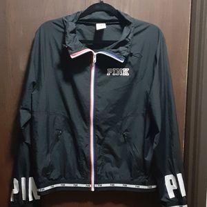 PINK windbreaker jacket